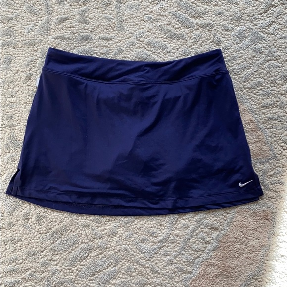Nike Purple Tennis Skirt with Builtin Shorts